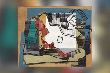 Picasso-vázlatottaláltak aművészegy híres absztrakt festménye alatt