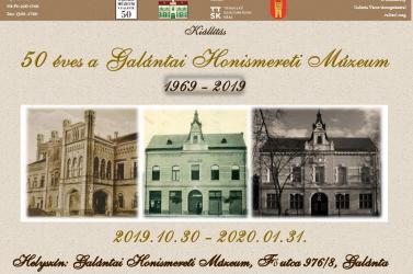 50 éves a Galántai Honismereti Múzeum