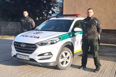 Életet mentettek a bősi rendőrök!