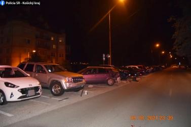 Hat parkoló autó látta kárát a28 éves férfi ittas vezetésének