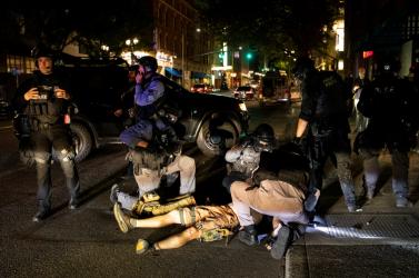 Agyonlőttek Portlandben egy férfit egy tüntetés alatt
