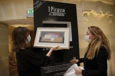 Múzeumokban állíttatná ki a sorsjegyen nyert Picasso-képet a szerencsés nyertes