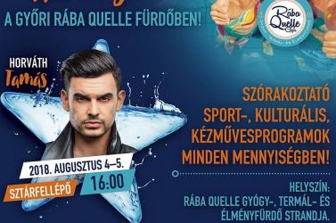 Gyere Győrbe, a Rába Quelle Fesztiválhétvégére!