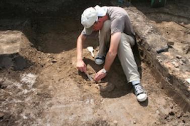Szonárral kerestek a régészek Izsánál egy római kori kikötőt