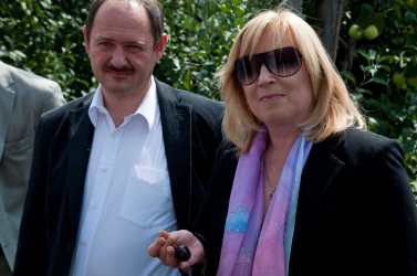 Csallóközi gyümölcsösben értékelte az évet Simon Zsolt és Iveta Radičová
