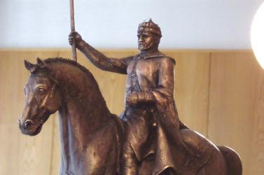 A Komáromi Napokon látható lesz Szent István lovas szobrának makettje