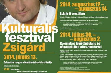 Kaszás Attila Kulturális fesztivál 2014