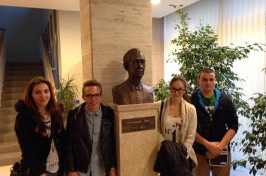 Somorjai gimnazisták jártak az MTA Kísérleti Orvostudományi Kutatóintézetében!