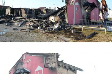 POKOLI TŰZ: Két robbanást követően porig égett a Prestige!