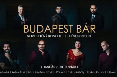 Budapest Bár - újévköszöntő koncert Komáromban!