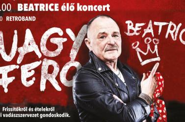 Idén Beatrice élő koncert az Egyházkarcsai Falunapon