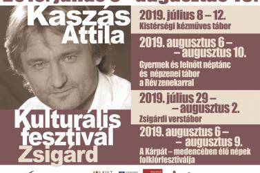 Kaszás Attila Kulturális Fesztivál 2019