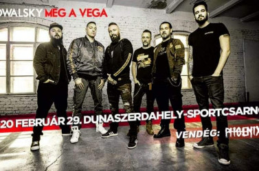 Februárban újra Kowalsky meg a Vega Dunaszerdahelyen