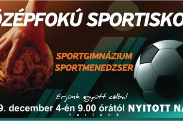 Nyílt napot tart a dunaszerdahelyi Középfokú Sportiskola