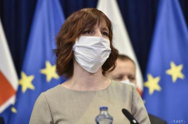 Veronika Remišová ellentétben Erik Tomášsal nem kérdőjelezi meg az antigén tesztek alkalmasságát