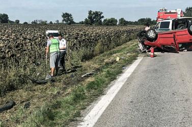 100 km/óránál akadt be az idős pár kocsijába belerohanó autó sebességmutatója