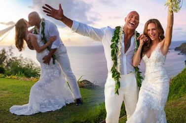 Nem véletlenül tartotta teljes titokban készülő esküvőjét Dwayne Johnson