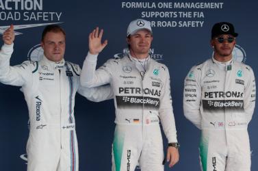 Orosz Nagydíj - Rosberg nyerte az időmérőt