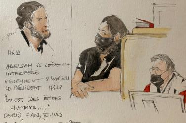 Bíróság elé állt az iszlamista terrorista: