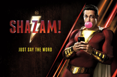 A Shazam! vette át a kasszasikerlista vezetését
