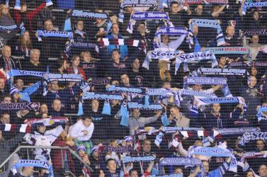 Kilenc ember, köztük két gyerek sérült meg a Slovan-drukker miatt, de megússza felfüggesztettel