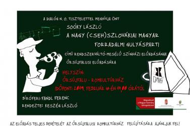 A nagy (cseh)szlovákiai magyar gulyásparti Őrsújfalun lesz!