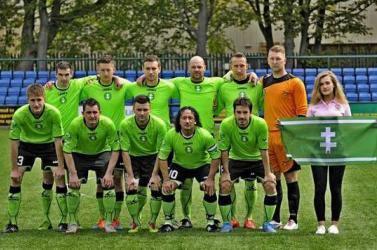 A felvidéki futballválogatott negyedik lett a FUEN Eb-n