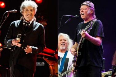 Bob Dylan és Neil Young együtt lép fel jövőre