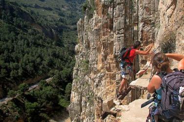 Europa Nostra-nagydíjat nyert a spanyol El Caminito del Rey hegyi ösvény