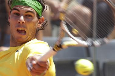 Federer kiesett, Nadal könnyen nyert
