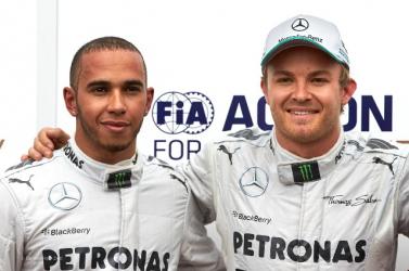 Forma-1 – Rosberg és Hamilton között enyhült a feszültség