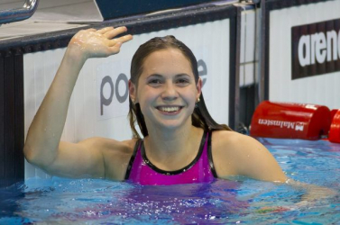 Vizes Eb - Kapás Boglárka aranyérmes 1500 méter gyorson