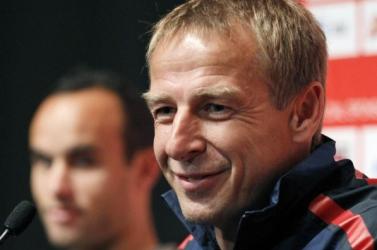 Jürgen Klinsmann fia próbajátékon a Hertha BSC-nél