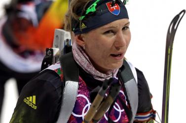 Szocsi 2014: Kuzmina történelmet írt, ismét aranyérmet szerzett biatlonban!