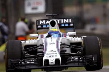 Olasz Nagydíj - Massa nyerte a csonka harmadik szabadedzést