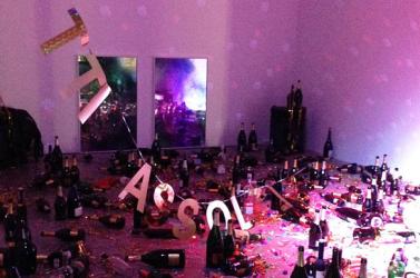 Szemétnek hitték a múzeumi installációt, ezért feltakarították