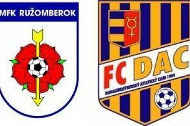 Corgoň Liga: MFK Ružomberok - DAC 2:1 (Online)