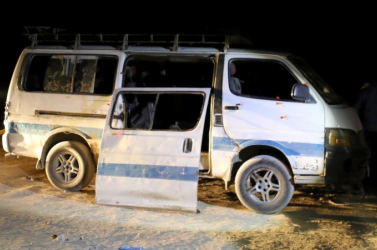 Megtámadtak egy keresztény zarándokokat szállító buszt, többen meghaltak
