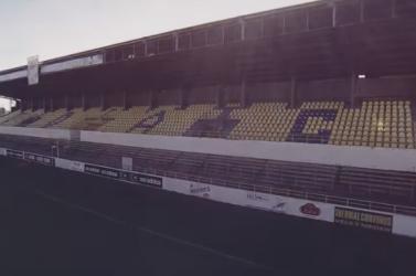 Korábban sosem látott felvételeken a régi DAC-stadion