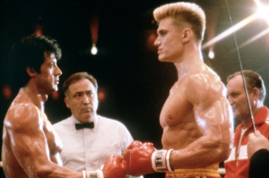 Az Instragramon hülyül egymással Stallone és Lundgren, a Rocky IV két bunyósa