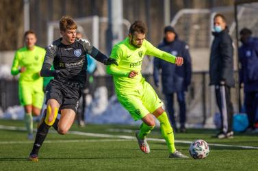 II. labdarúgóliga, 16. forduló: Somorjai döntetlen, besztercebányai vereség atavaszi nyitányon