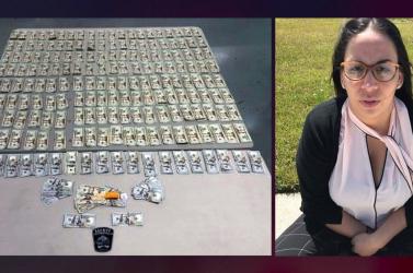 Bűzlött a marihuána szagától a pénz, amivel egy rab óvadékát akarta kifizetni egy nő