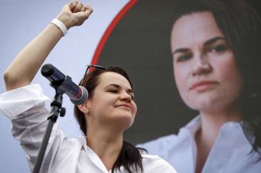 Árnyékkormányt alakít Szvjatlana Cihanouszkaja ellenzéki vezető