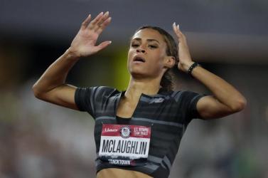 Amerikai válogató - Világcsúcs női 400 méter gáton