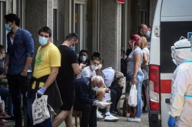 Montenegróban minden nyolcadik fertőzötta turisták közül kerül ki