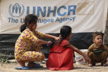 Csaknem 950 ezer ember hagyta el otthonát a szíriai harcok miatt december óta