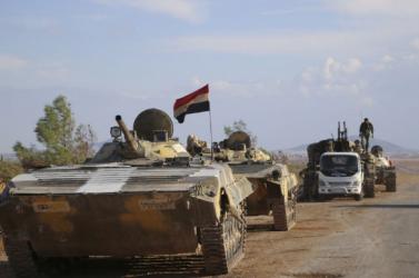 A szíriai hadsereg bevonult Tabkába és Rakkába
