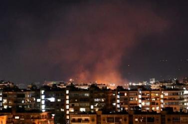 Izraeli rakétákat semmisített mega szíriailégvédelem Damaszkusz fölött