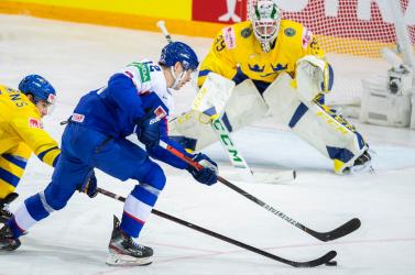 Jégkorong-vb: A szlovákok sokáig vezettek, de a svédek a harmadik harmadban fordítottak