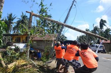 Sokan meghaltak a a Fülöp-szigeteken tomboló tájfun következtében